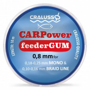 Амортизатор Cralusso Feeder Gum CARPower 0.80мм